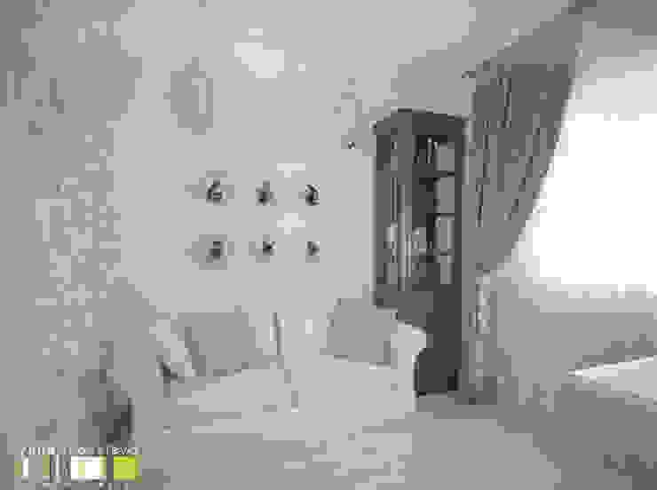 Oficinas de estilo clásico de Мастерская интерьера Юлии Шевелевой Clásico