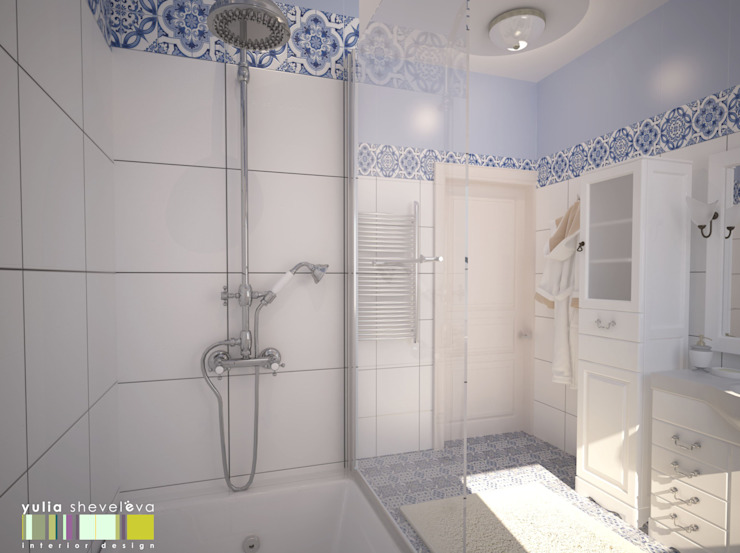 Classic style bathroom by Мастерская интерьера Юлии Шевелевой Classic