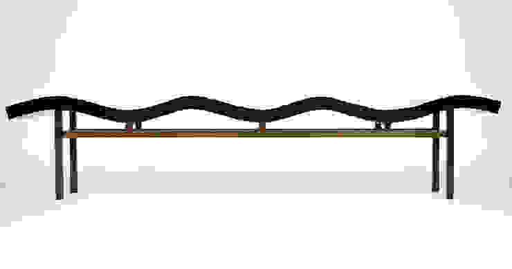 Bamboo Wave Bench : modern  by Aguirre Design , Modern