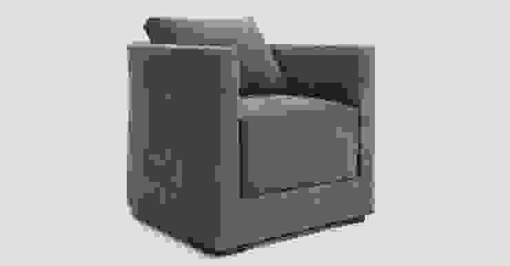 Lawrence Club Chair : modern  by Aguirre Design , Modern