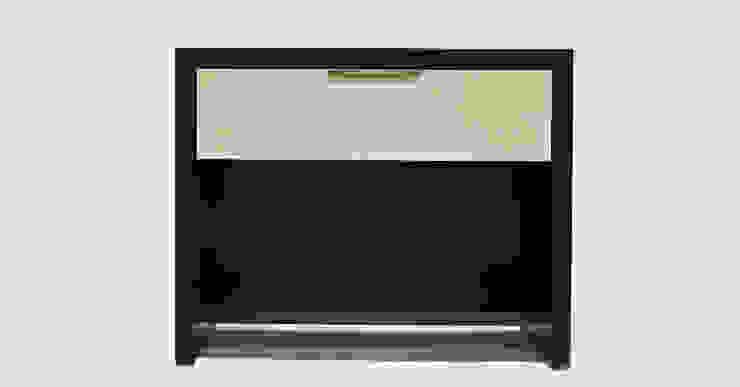 Parchment Nightstand: modern  by Aguirre Design , Modern