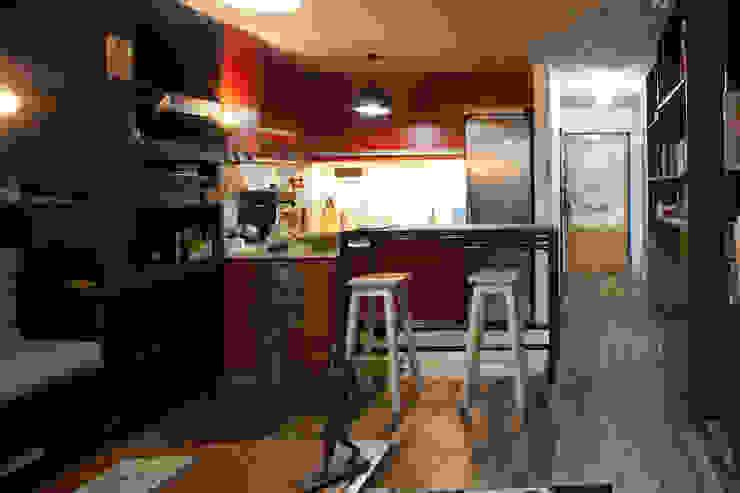 Minimalist dining room by Ciudad y Arquitectura Minimalist