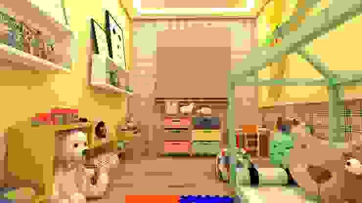 QUARTO DA BIA - MONTESSORIANO homify Quartos de bebê Madeira Multi colorido
