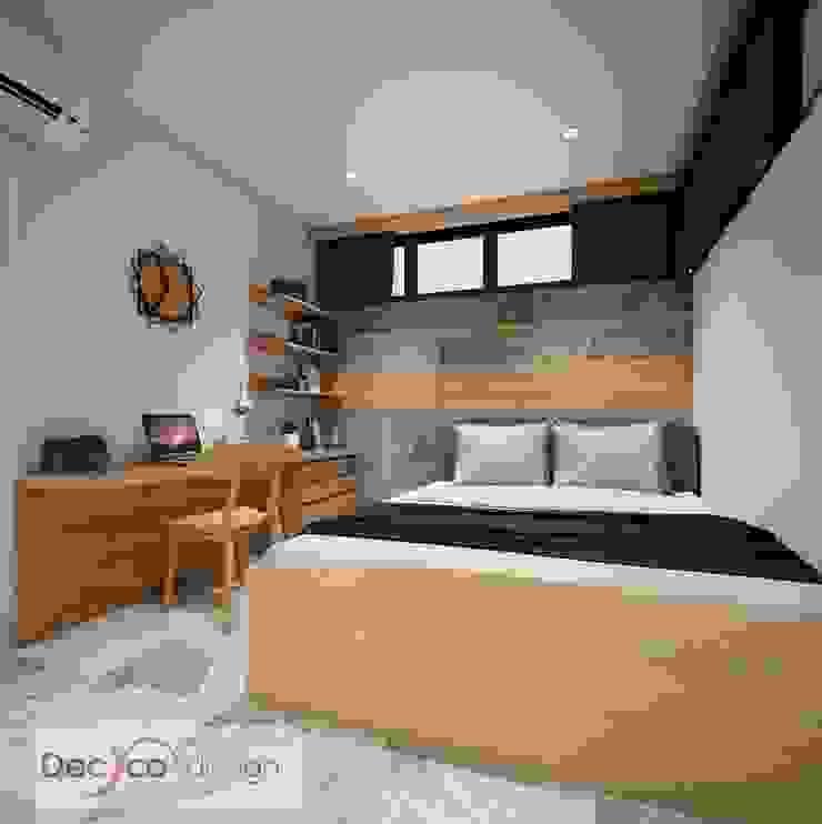 ห้องนอน สไตล์โมเดิร์นลอฟท์ โดย Deccor Design