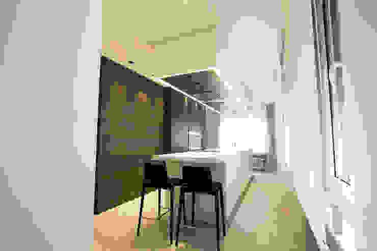 Modern Mutfak Bocetto Interiorismo y Construcción Modern