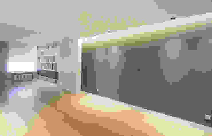 Modern Oturma Odası Bocetto Interiorismo y Construcción Modern