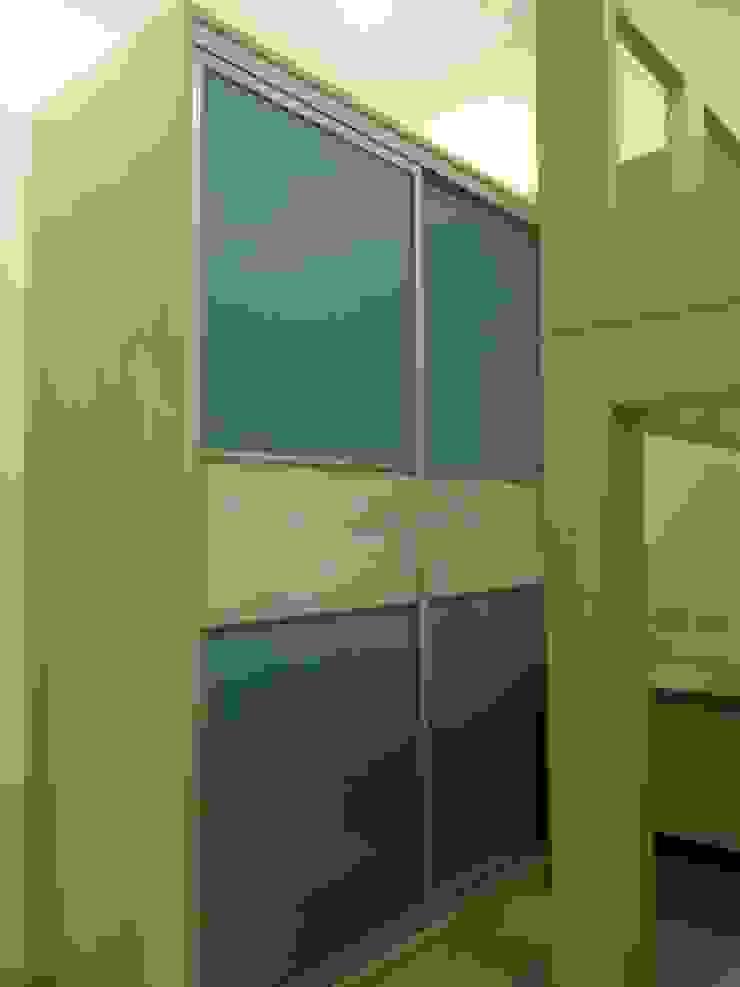 台北美河市陳公館設計裝修案 根據 劉旋設計事務所/劉旋工程有限公司 現代風
