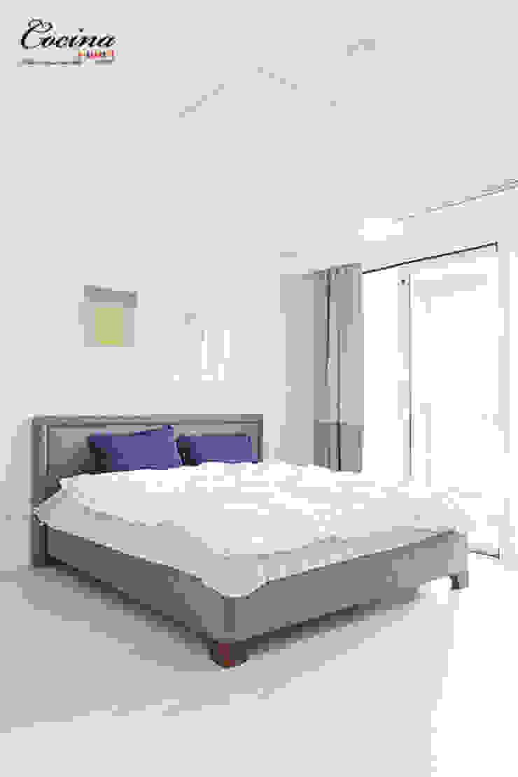 cocina Camera da letto moderna
