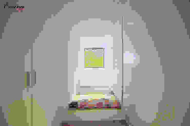 cocina Ingresso, Corridoio & Scale in stile moderno