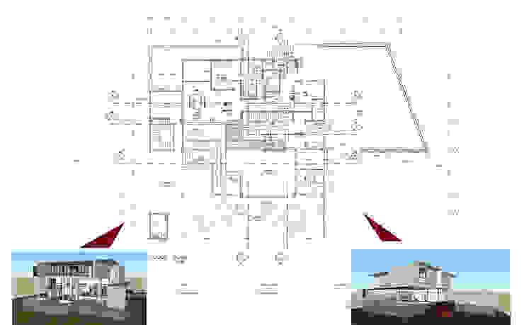 บ้านตากอากาศในพื้นที่สนามกอล์ฟ โดย PRECIO HOUSE