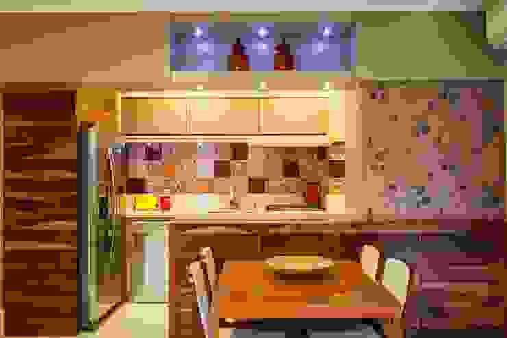 studio vert arquitetura Modern style kitchen