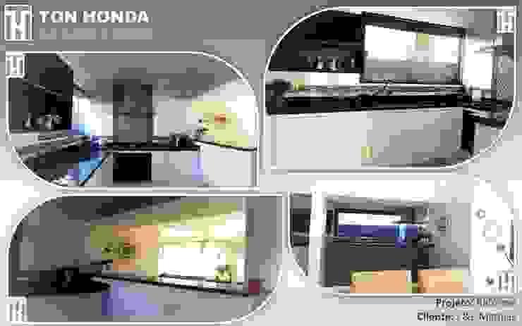 Reforma Residencial por Ton Honda Arquitetura Moderno