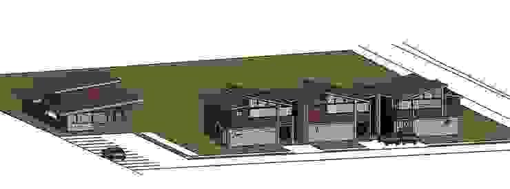 QUINCHO Pucón de AEG Arquitectura, Asesoría y Construcción. Moderno Hierro/Acero