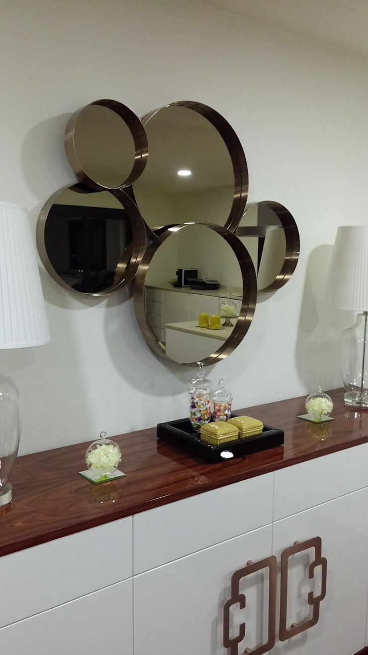 ANA LEITE - INTERIOR DESIGN STUDIO Salones de estilo moderno