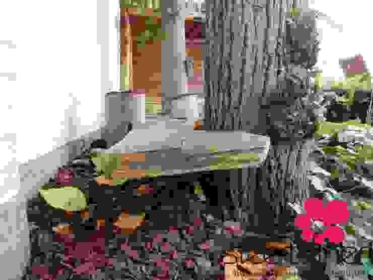 Lindebomen, eikenhout en notenhout. Sfeertuinen TuinSchommels & speeltoestellen Hout