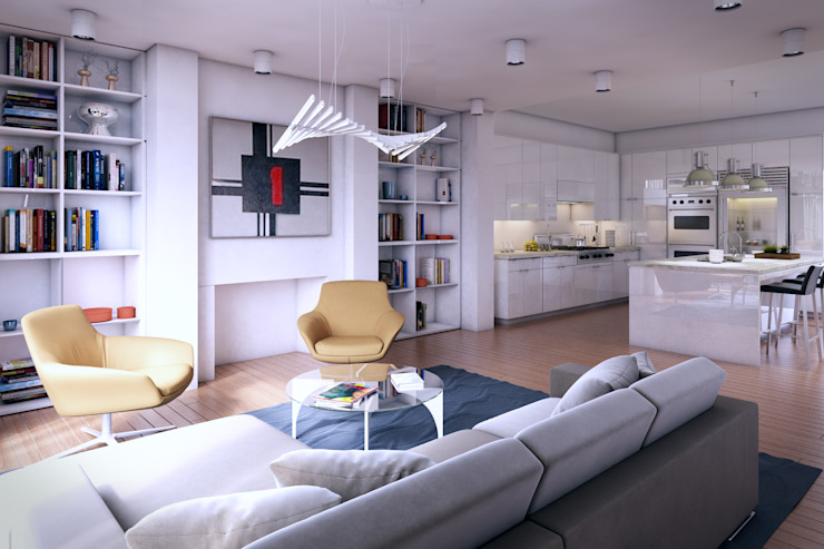 Interior renderings by 3d Render Production