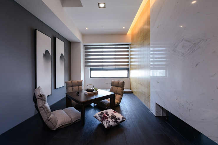 和室 根據 見本設計 日式風、東方風