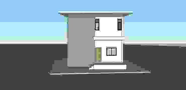 บ้านพักอาศัย 2 ชั้น โดย raintree design studio