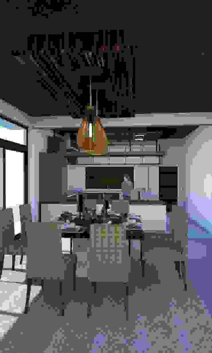 แบบร่างบ้าน 2 ชั้น(ไม่ได้สร้างจริง) จ.หนองคายครับ โดย raintree design studio