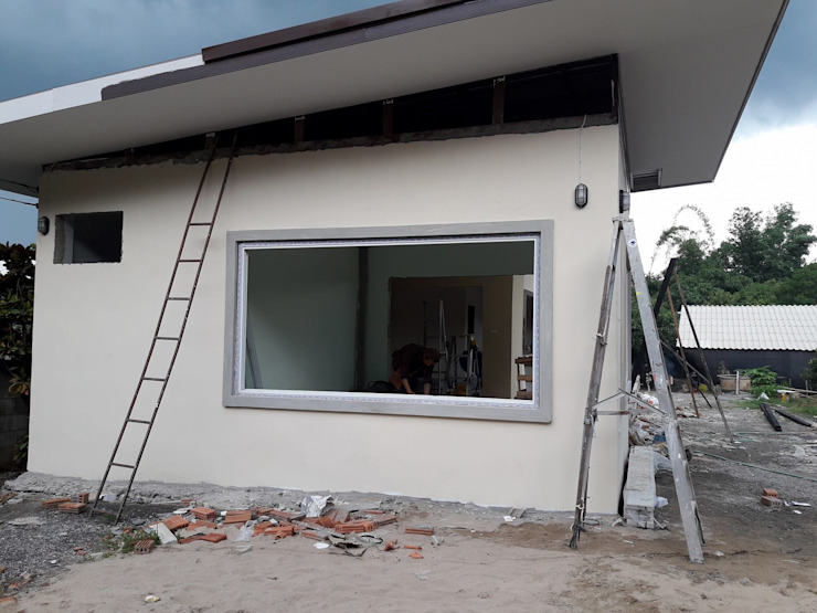 บ้าน2 โดย ช่างณีมิตรรับซ่อมบ้านออกแบบต่อเติมรับเหมาก่อสร้าง