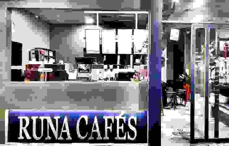 RUNA嚕娜咖啡 根據 X2 CREATE乘雙設計制造所 工業風