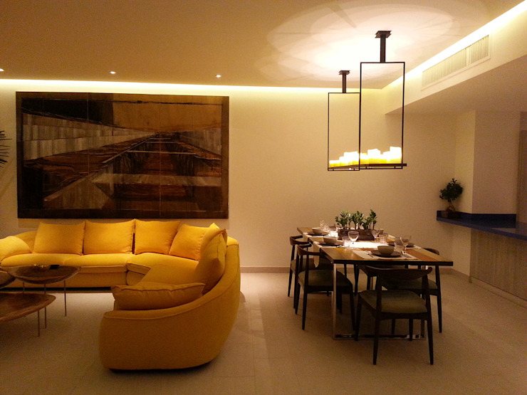 Dining room تنفيذ Paradigm Design House,