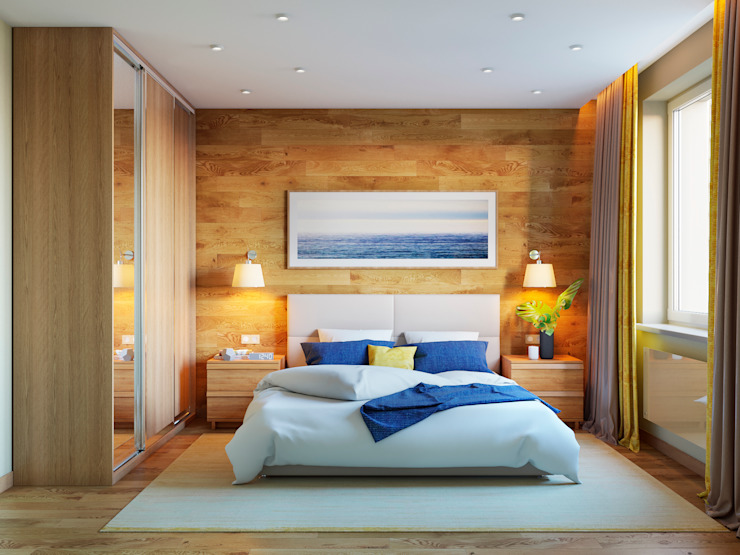 Minimalist bedroom by homify Minimalist Wood Wood effect