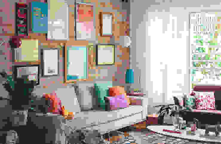 Koulè Design Afetivo Phòng khách phong cách chiết trung