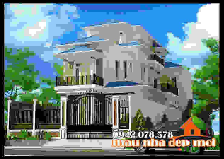 Không gian kiến trúc sinh động và độc đáo bởi Công ty TNHH TKXD Nhà Đẹp Mới Châu Á