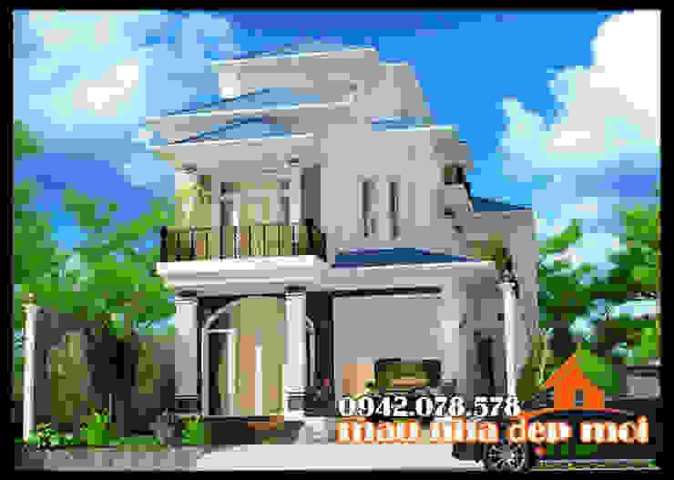 Kiến trúc phóng khoáng, sang trọng bởi Công ty TNHH TKXD Nhà Đẹp Mới Châu Á