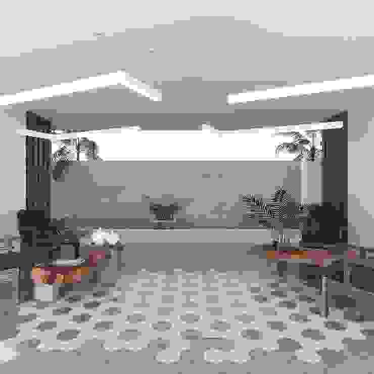 Taller Veinte Balcon, Veranda & Terrasse modernes