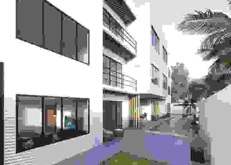 Modern houses by Taller Veinte Modern