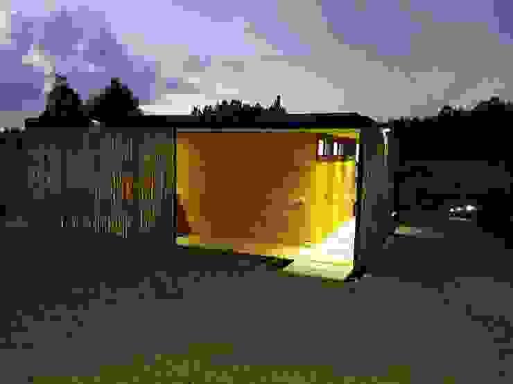Fachada Sur - Doble Piel de Nido Arquitectos Moderno