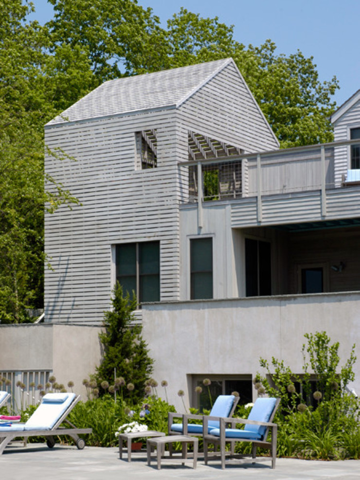 Town Lane Residence, Amagansett, NY 根據 BILLINKOFF ARCHITECTURE PLLC 鄉村風