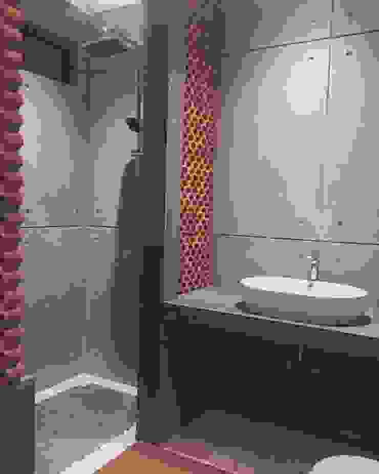 Konsep kamar mandi Unfinished Kamar Mandi Minimalis Oleh Hanez Minimalis