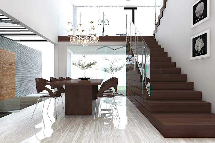 Dining room by ACCESS ARCHITECT