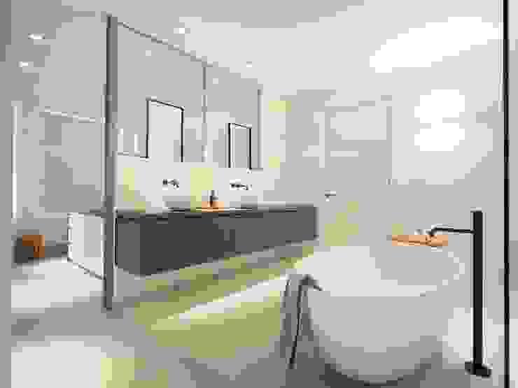 Foto Moderne badkamers van Koen Timmer Modern