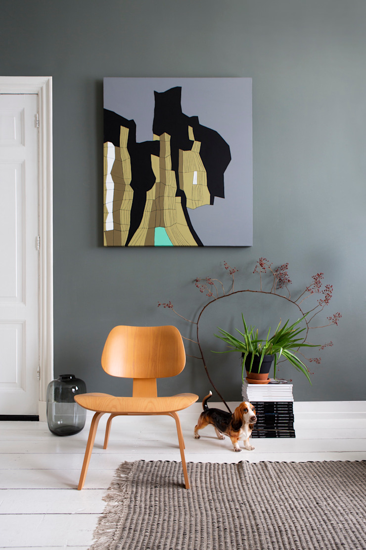 Soggiorno eclettico di FORM MAKERS interior - concept - design Eclettico Legno Effetto legno