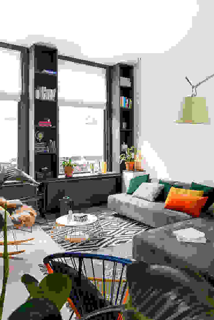 Woonkamer Eclectische woonkamers van FORM MAKERS interior - concept - design Eclectisch MDF