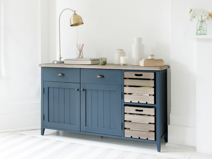 Cidre sideboard in Inky Blue Cuisine moderne par Loaf Moderne