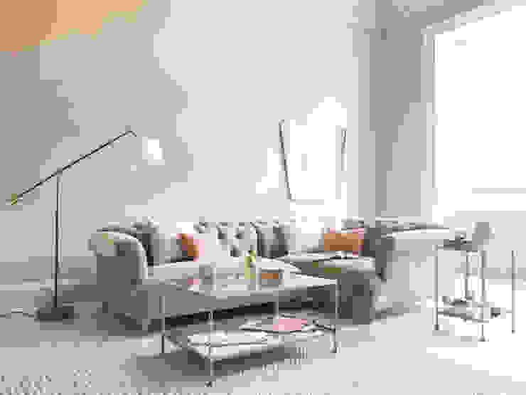 Dixie corner sofa Salas modernas de Loaf Moderno