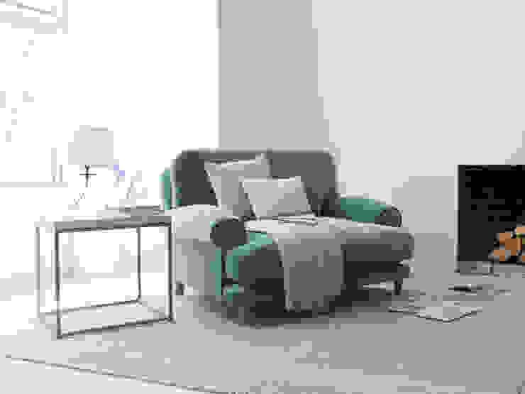 Slowcoach love seat Salon moderne par Loaf Moderne