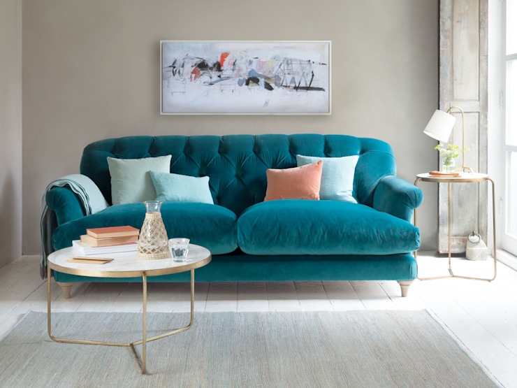 Dark Teal Coffee Table