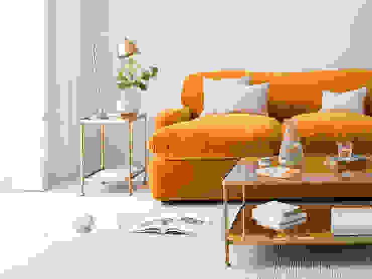 Wonder-Brass Modern Living Room by Loaf Modern