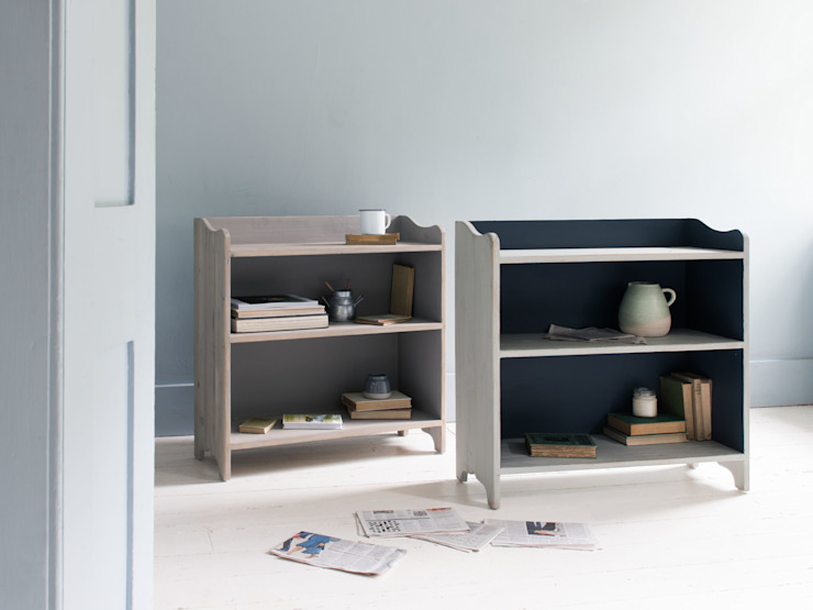 Alley Cat in Grey and Inky Blue Salon moderne par Loaf Moderne