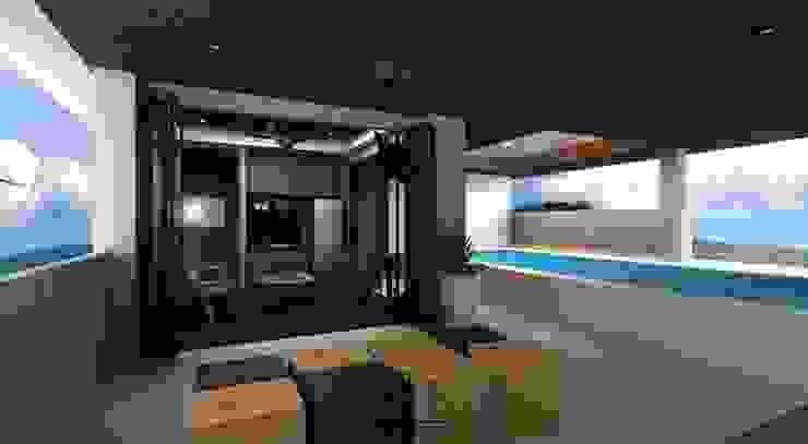 บ้านคุณหมอโอม จังหวัดกระบี่ โดย Fit Design Studio