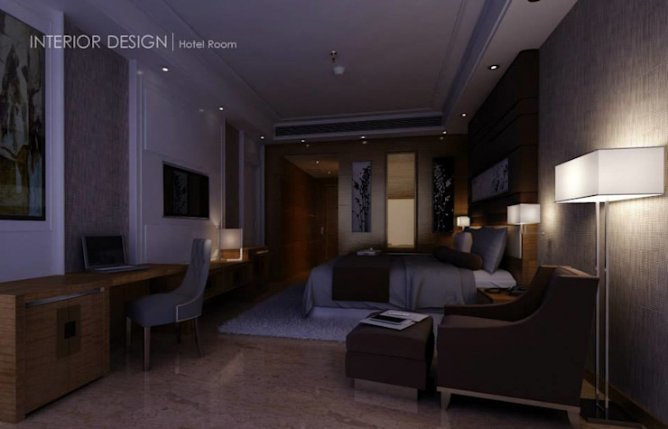 Hurghada:  غرفة نوم تنفيذ  Axis Architects for architecture and interior design,حداثي