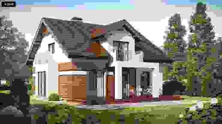根據 ADAY GRUP Hafif Çelik Yapılar A.Ş. / LGS CONSTRUCTION 現代風 塑木複合材料