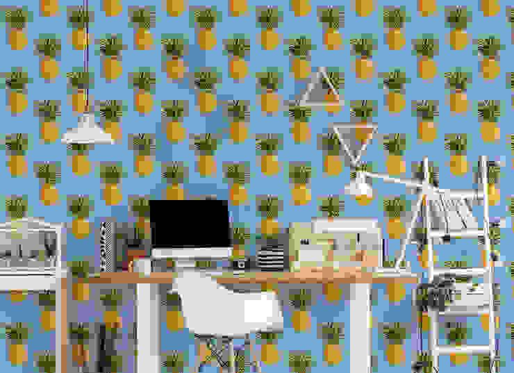 PINEAPPLE SKY Pixers Bureau tropical Multicolore