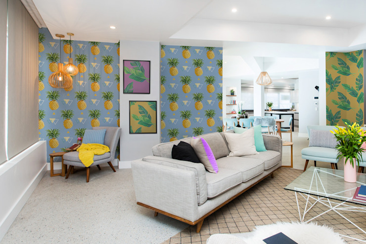 PINEAPPLE LOUNGE Pixers Living room Multicolored